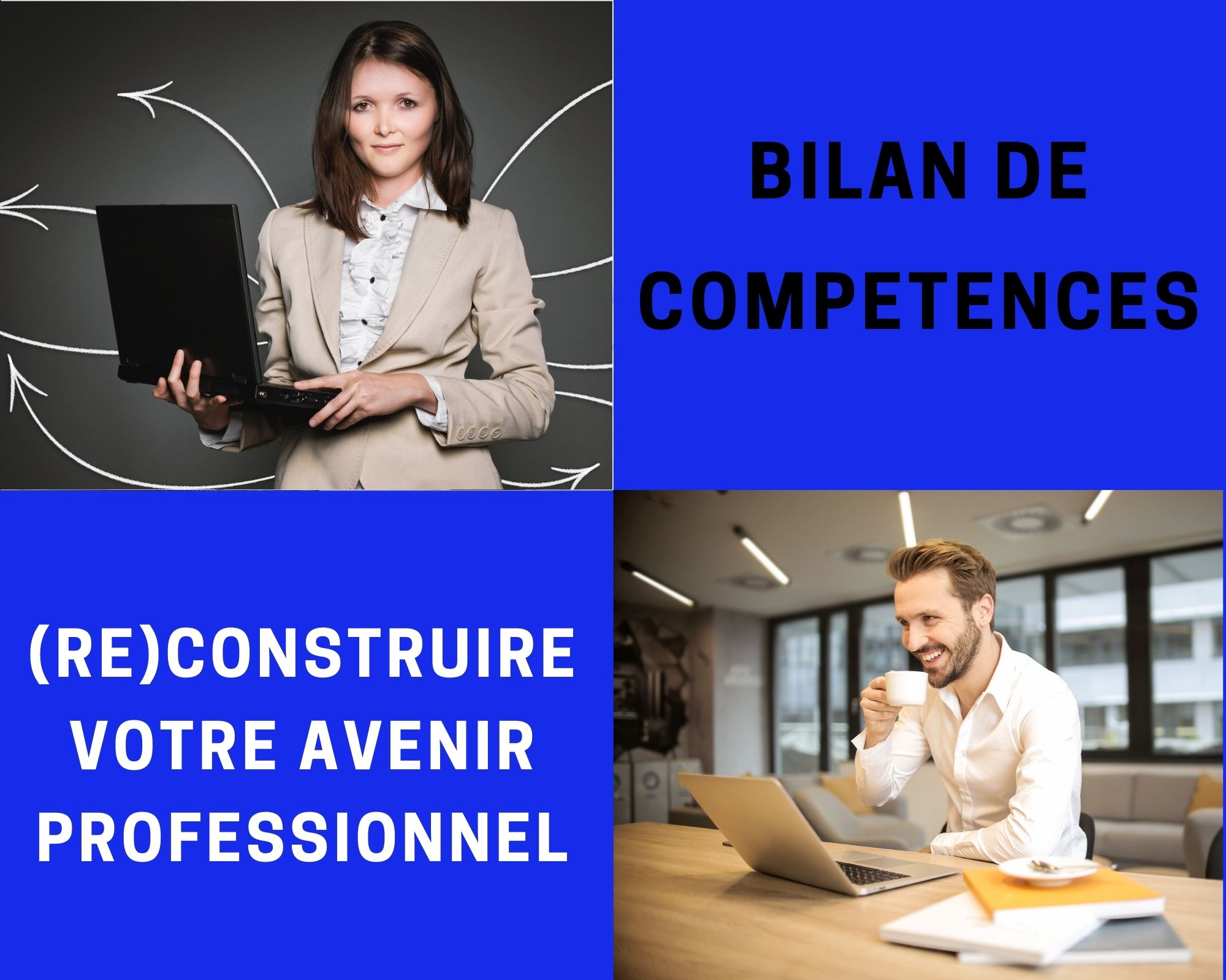 ✔ BILAN DE COMPÉTENCES